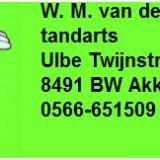 tandarts W. M. van der Bij